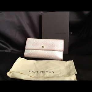 Louis  Vuitton Vernis Trifold Wallet